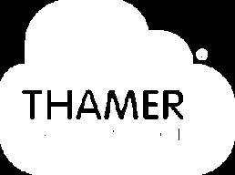Thamer Creative School - Logo blanco_ieducando