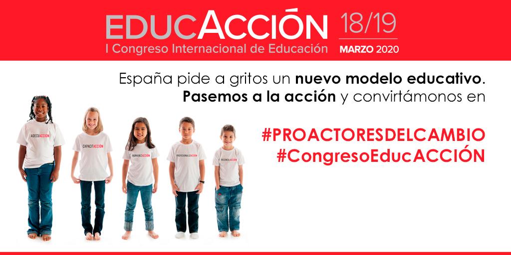 EducAcción. I Congreso Internacional de Educación @ Palacio de Ferias y Congresos de Málaga